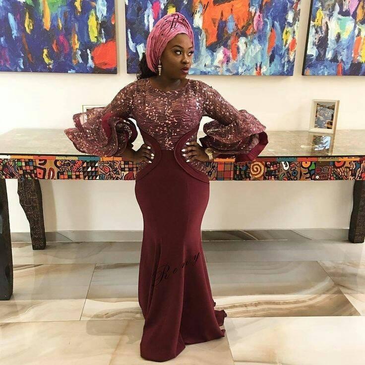 Ankara dress style