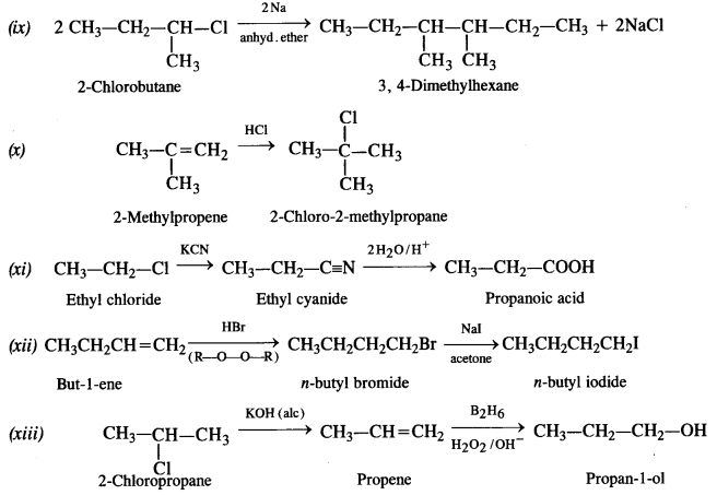 NCERT Solutions for Class 12 Chemistry Chapter 11 Alcohols, Phenols and Ehers e 19b