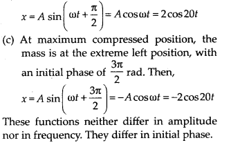 NCERT Solutions for Class 11 Physics Chapter 14 Oscillation 9