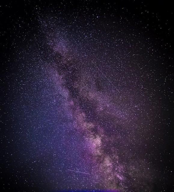 Milky way over Karystos - Greece