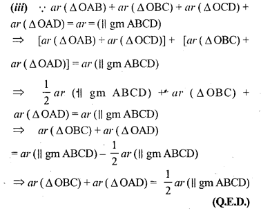 ML Aggarwal Class 9 Solutions for ICSE Maths Chapter 14 Theorems on Area     4c