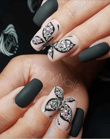lovely butterfly nail art designs 2019  hairstyles 2u