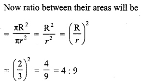RD Sharma Class 10 Solutions Chapter 13 Areas Related to Circles VSAQS - 2a