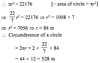 RD Sharma Class 10 Solutions Chapter 13 Areas Related to Circles Ex 13.1 12