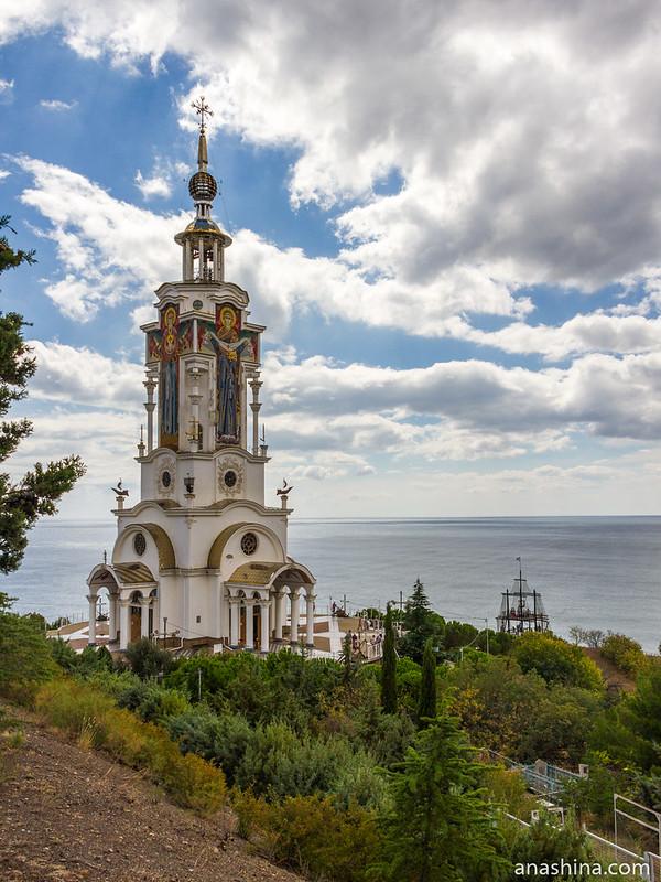 Храм Святителя Николая Мирликийского в Малореченском, Крым