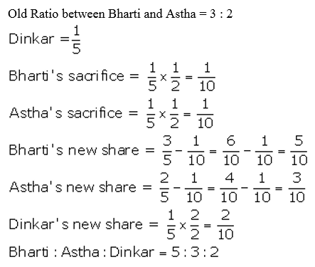 TS Grewal Accountancy Class 12 Solutions Chapter 4 Admission of a Partner Q5