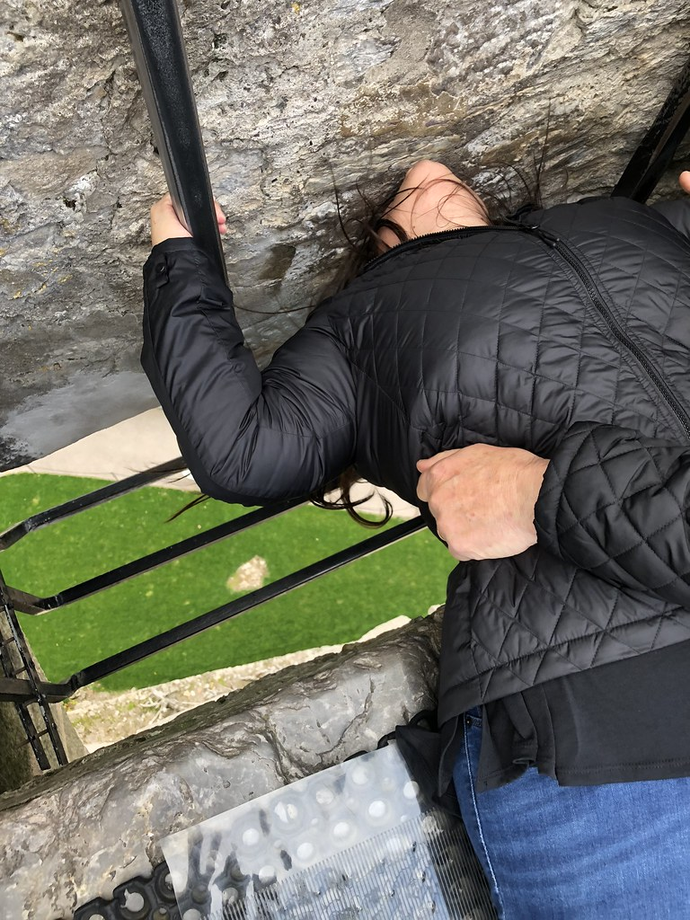 Kissing the Blarney Stone | Ireland and Scotland Itinerary