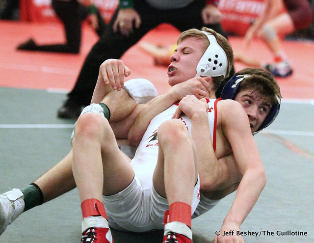 106 1st Place Match - Blake West (Owatonna) 13-0 won by decision over Pierson Manville (Shakopee) 13-1 (Dec 5-4). 181215BJF0036
