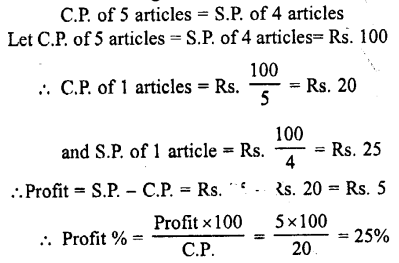 Selina Concise Mathematics class 7 ICSE Solutions - Profit, Loss and Discount-c12