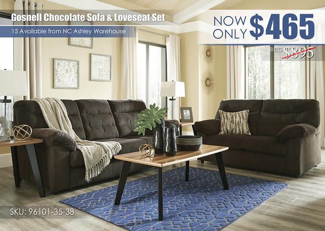Gosnell Chocolate Sofa & Loveseat_96101-38-35-T344