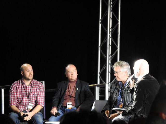 Firestorm panel - MCM Comic Con - Sam Payne Picture 10