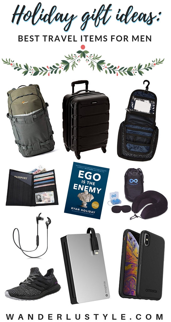 Holiday Gift Ideas: Best Travel Items for Men | Wanderlustyle.com