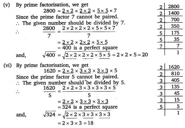 vedantu class 8 maths Chapter 6 Squares and Square Roots 14