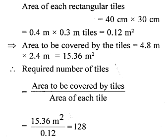 Selina Concise Mathematicsclass 6 ICSE Solutions -Perimeter and Area of Plane Figures-b13
