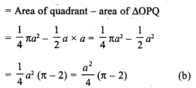 RD Sharma Class 10 Solutions Chapter 13 Areas Related to Circles MCQS -31a