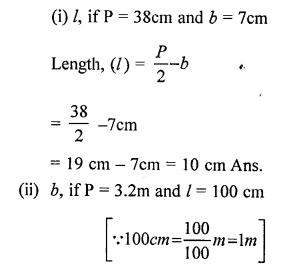 Selina Concise Mathematicsclass 6 ICSE Solutions -Perimeter and Area of Plane Figures-5a