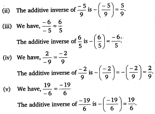 NCERT Solutions for Class 8 Maths Chapter 1 Rational Numbers 6