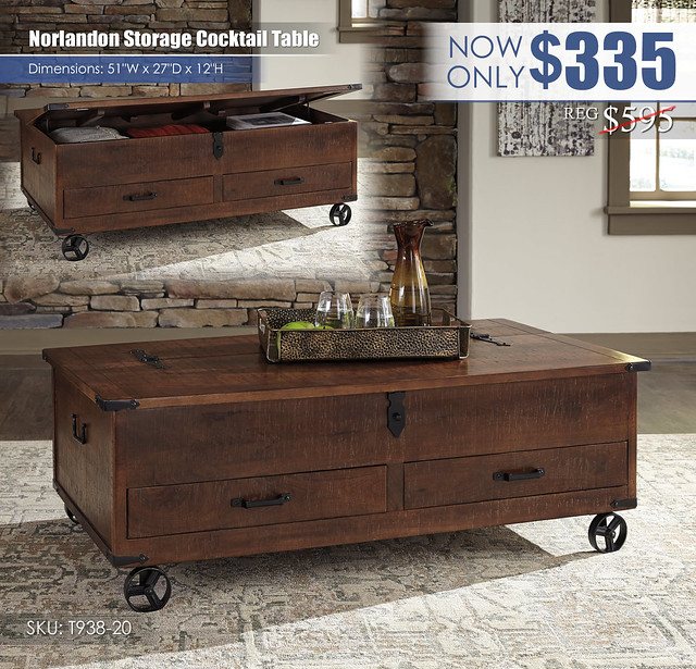 Norlandon Storage Cocktail Table_T938-20