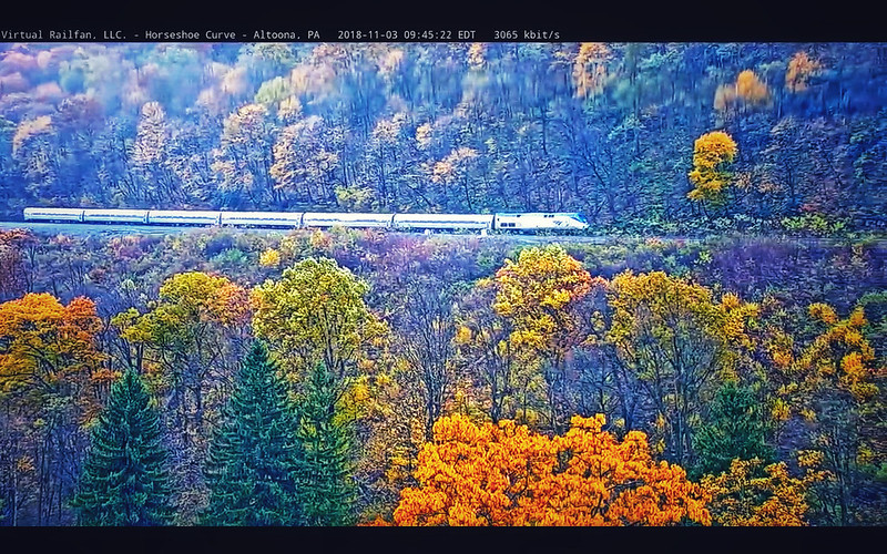 Horseshoe Curve in autumn