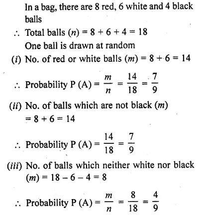 RD Sharma Class 10 Solutions Chapter 16 Probability Ex 16.1 28