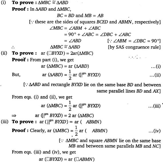 NCERT Solutions for Class 9 Maths Chapter 9 Area of parallelograms and Triangles 52