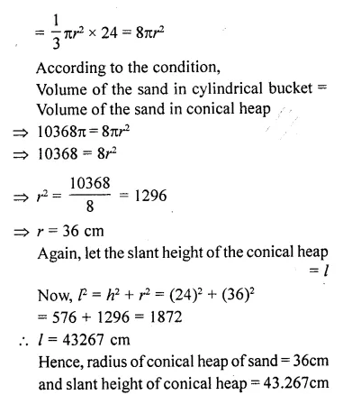 RD Sharma Class 10 Solutions Chapter 14 Surface Areas and Volumes Ex 14.1 69