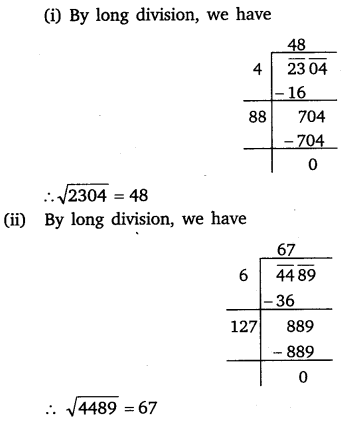 NCERT Solutions for Class 8 Maths Chapter 6 Squares and Square Roots 20