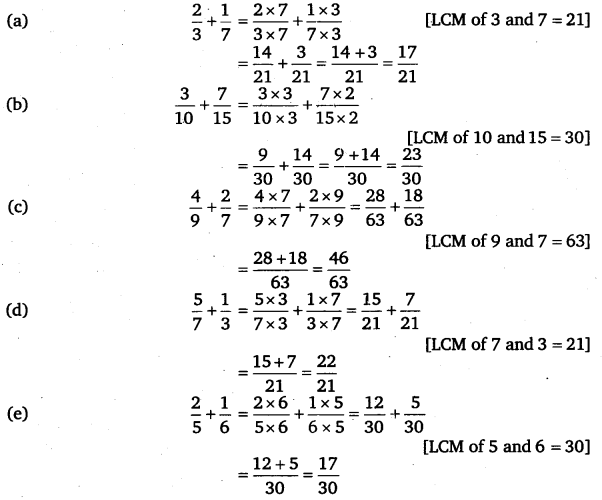 NCERT Solutions for Class 6 Maths Chapter 7 Fractions 75