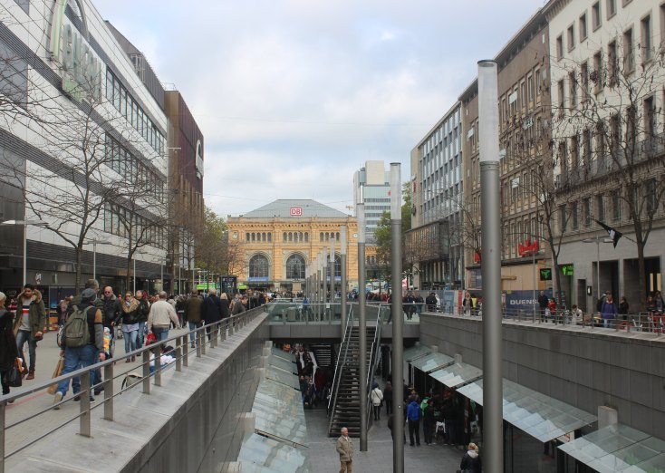 Niki-de-Saint-Phalle-Promenade, Hanover, Germany