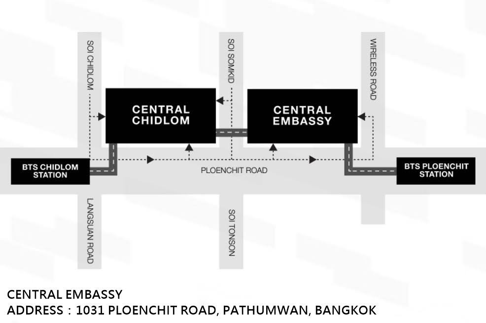 Central Embassy map