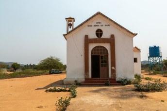 Daar stond ook deze Nossa Senhora das Graças, wat weer een andere naam is voor de maagd Maria.