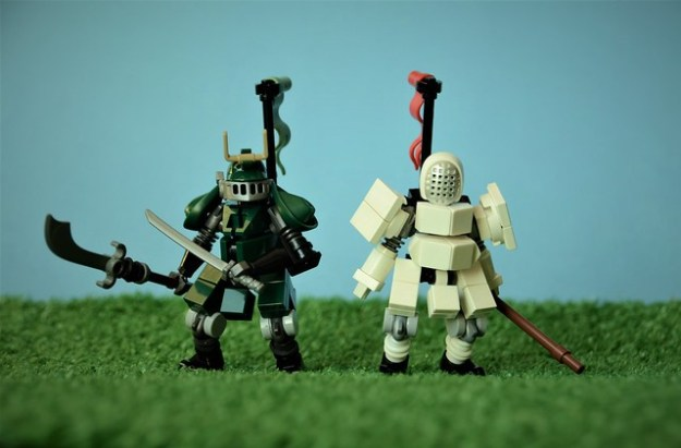 古代的战士