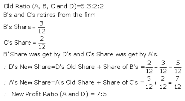 TS Grewal Accountancy Class 12 Solutions Chapter 5 Retirement Death of a Partner Q11