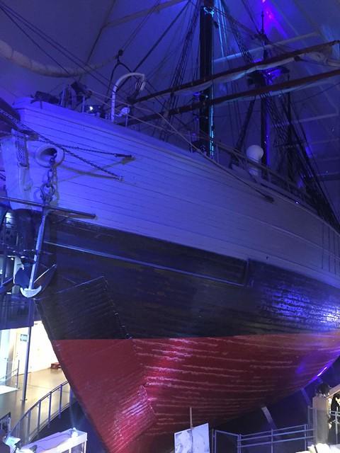Fram was rather a huge ship