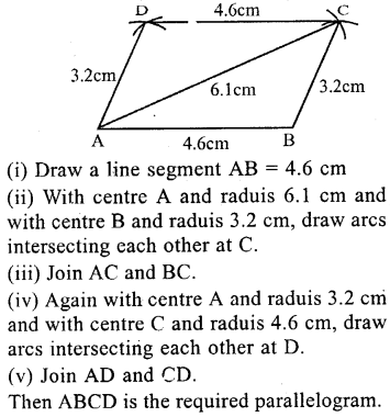 ML Aggarwal Class 9 Solutions for ICSE Maths Chapter 13 Rectilinear Figures  ex 2  8