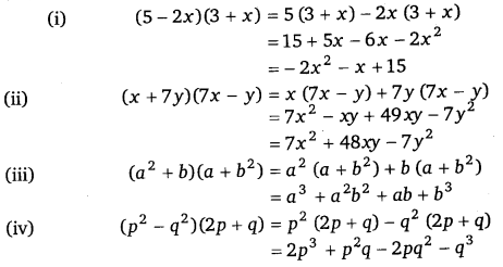 NCERT Solutions for Class 8 Maths Chapter 9 Algebraic Expressions and Identities 18