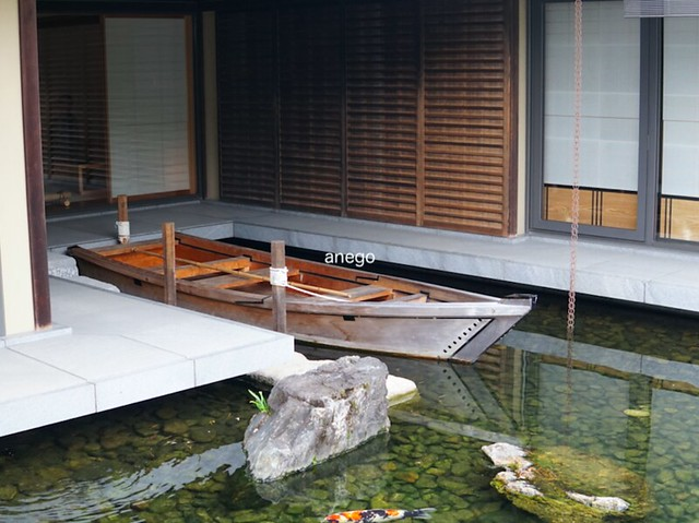 京都迎賓館 小舟