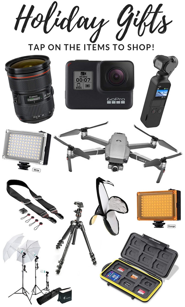 Holiday Gift Guide for Photographers - Holiday Gift Guide