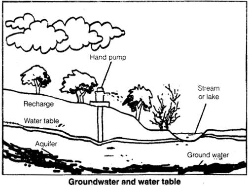 NCERT Solutions for Class 7 Science Chapter 16 Water A