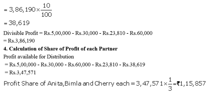 TS Grewal Accountancy Class 12 Solutions Chapter 1 Accounting for Partnership Firms - Fundamentals Q55.3