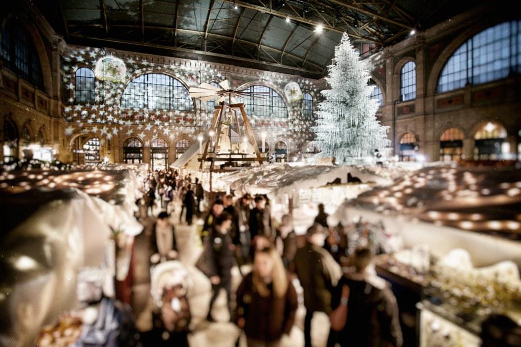 Christkindlimarkt 2011, Zürich, cp9, Hauptbahnhof