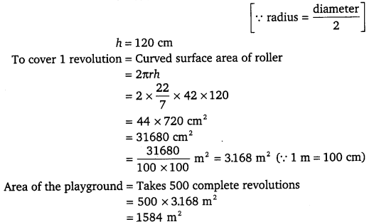 NCERT Solutions for Class 9 Maths Chapter 13 Surface Area and Volumes 5