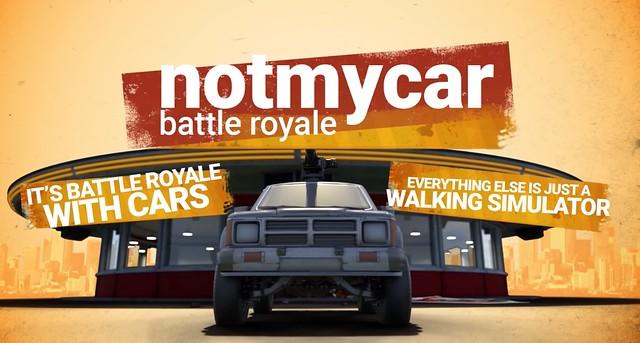 Notmycar - Tout le reste est un simulateur de marche