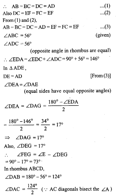 ML Aggarwal Class 9 Solutions for ICSE Maths Chapter 13 Rectilinear Figures  ct 6b