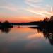 Sonnenuntergang an der Spree