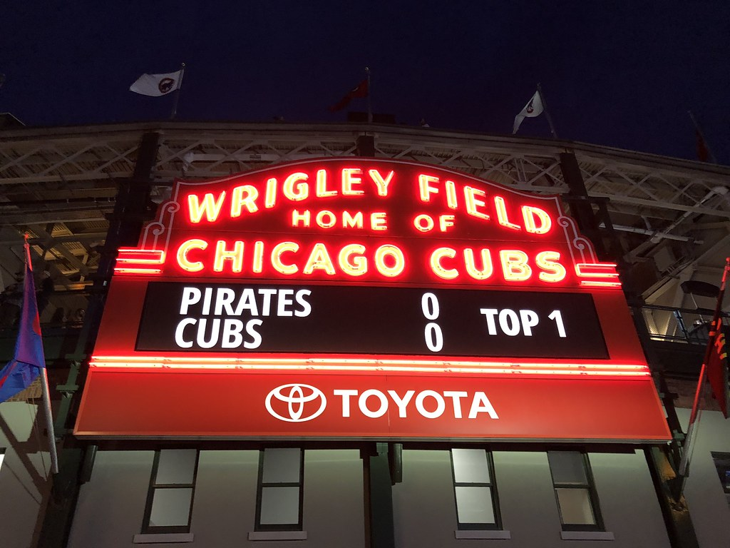 Cub's Game   2 Days in Chicago