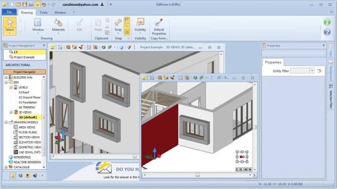 Working with Edificius 3D Architectural BIM Design 11.0.4 full