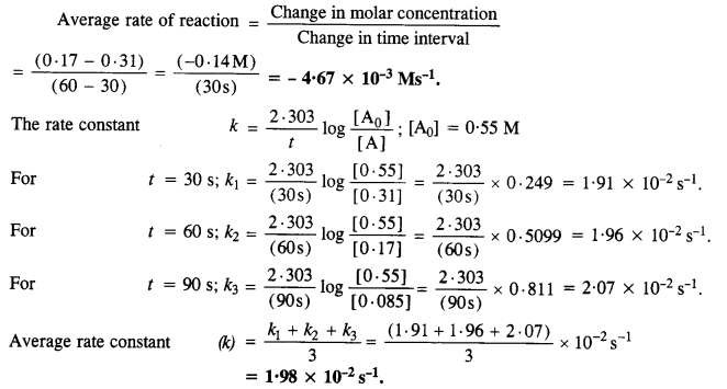NCERT Solutions for Class 12 Chemistry Chapter 4 Chemical Kinetics 16