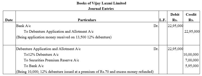 TS Grewal Accountancy Class 12 Solutions Chapter 9 Issue of Debentures Q8