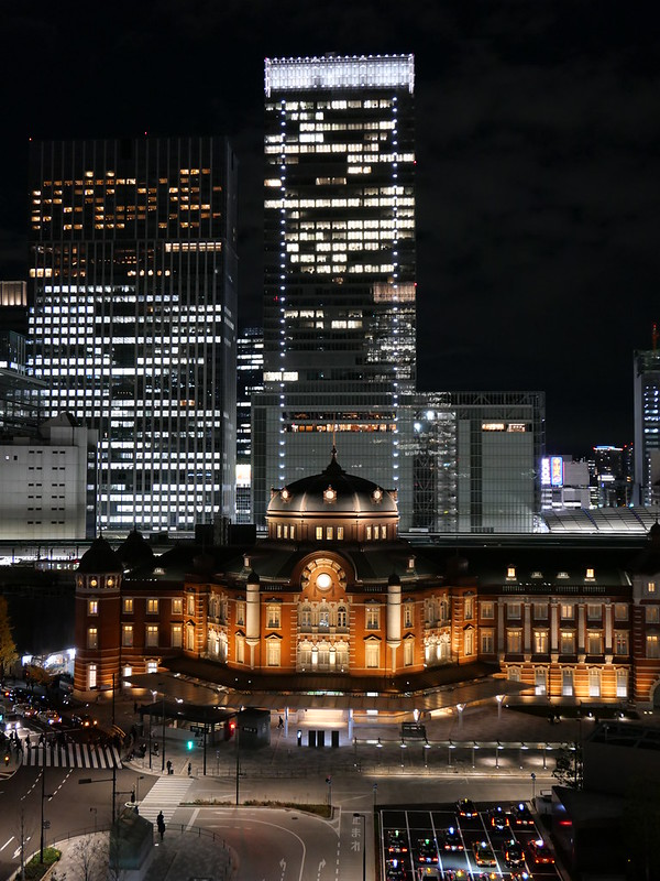Tokyo station north dome